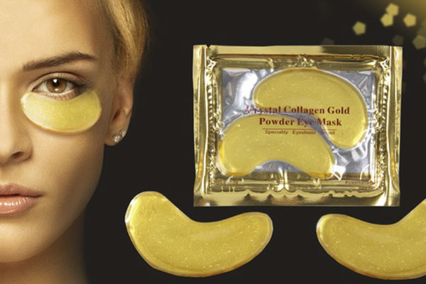 Maschera antirughe Gold Eye Mask